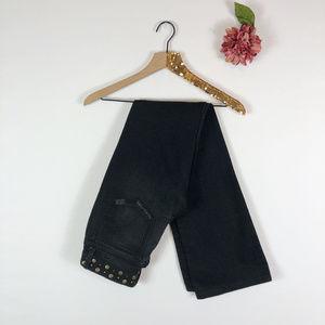 [JOE'S] Boot Cut Studded Denim Jeans